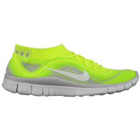 Nike Free Flyknit + - Men's - Light Green / Grey
