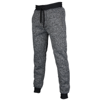 Southpole Marl Cuff Fleece Pants - Men's - Grey / Black