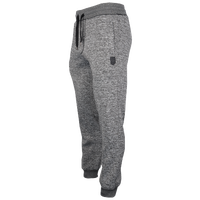 Southpole Marl Cuff Fleece Pants - Men's - Grey / Grey