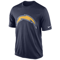 Nike NFL Dri-Fit Logo Legend T-Shirt - Men's - San Diego Chargers - Navy / Gold