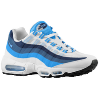 Nike Air Max 95 No Sew - Men's - White / Light Blue
