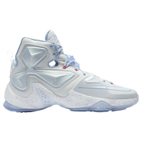 Nike LeBron XIII - Men's -  LeBron James - White / Light Blue