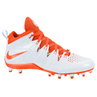 Nike Huarache 4 Lacrosse - Men's - White / Orange