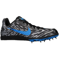 Nike Zoom Rival D 8 - Men's - Black / Light Blue