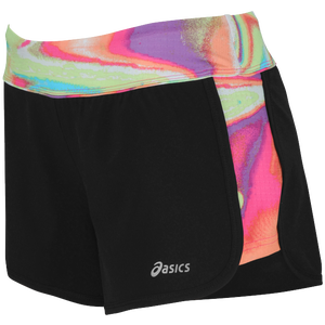 "ASICS� 4.5"" Everysport Shorts - Women's - Black/Iridescent"