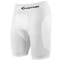 Easton Sliding Shorts - Boys' Grade School - All White / White