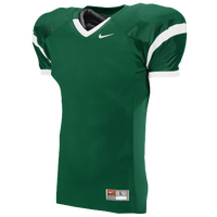 Nike Team Open Field Jersey - Men's - Dark Green / White