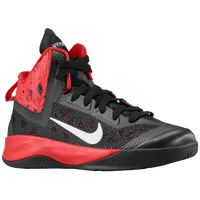 Nike Hyperfuse 2013 - Boys' Grade School - Black / Red