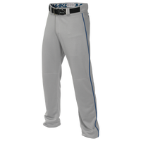 Easton Mako 2 Piped Baseball Pants - Men's - Grey / Blue