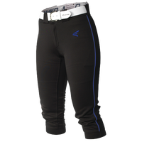 Easton Mako Piped Softball Pants - Women's - Black / Blue