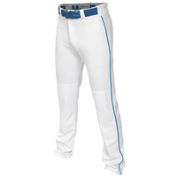 Easton Mako 2 Piped Baseball Pants - Boys' Grade School - White / Blue