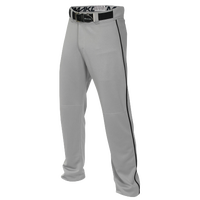 Easton Mako 2 Piped Baseball Pants - Boys' Grade School - Grey / Black