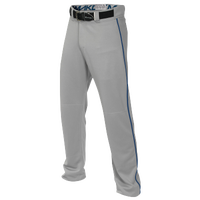 Easton Mako 2 Piped Baseball Pants - Boys' Grade School - Grey / Blue