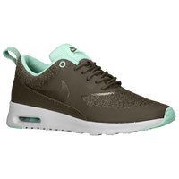 Nike Air Max Thea - Women's - Olive Green / Light Green