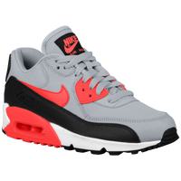 Nike Air Max 90 - Women's - Grey / Red
