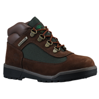 Timberland Field Boots - Boys' Preschool - Brown / Dark Green