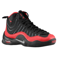 Nike Air Bakin' - Boys' Grade School - Black / Grey