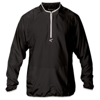 Easton M5 Long Sleeve Cage Jacket - Men's - Black / Silver