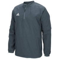 adidas Climalite Fielder's Convertible Jacket - Men's - Grey / Grey