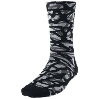 Jordan Ele Camo Sock - Adult - Black / Grey