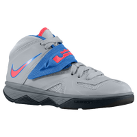 Nike Soldier VII - Boys' Preschool -  Lebron James - Grey / Blue