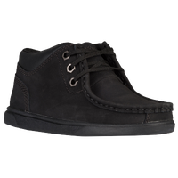 Timberland Groveton Moc Toe Chukka - Boys' Toddler - All Black / Black