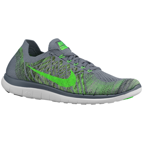 separation shoes e24d9 0c756 Nike Flyknit 4.0 Grey And Green endeavouryachtservices.co.uk