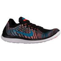 Nike Free 4.0 Flyknit 2015 - Men's - Black / Light Blue