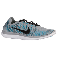 Nike Free 4.0 Flyknit 2015 - Men's - Grey / Light Blue