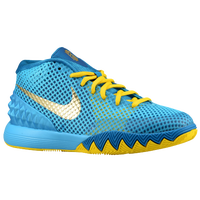 Nike Kyrie I - Boys' Grade School - Light Blue / Yellow