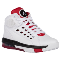 Jordan Ol'School - Men's - White / Red
