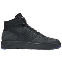 Nike Air Force 1 Ultra Flyknit Mid - Men's - Grey / Black