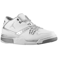 Jordan Flight 23 - Men's - White / Silver