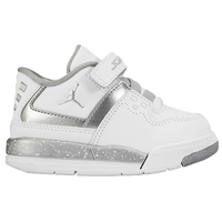 Jordan Flight 23 - Boys' Toddler - White / Silver