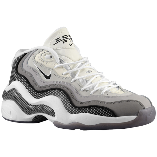timeless design 32143 0f777 Nike Air Zoom Flight 96 Mens Basketball Shoes Matte Silver Light  Charcoal Neutral Grey Black