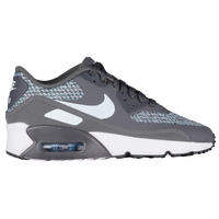 Nike Air Max 90 Ultra 2.0 SE - Girls' Grade School - Grey / Light Blue