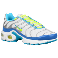 Nike Air Max Plus - Girls' Grade School - White / Light Green