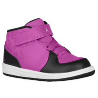 Jordan 1 Flight 3 - Girls' Toddler - Purple / White