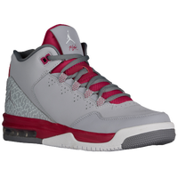 Jordan Flight Origin 2 - Girls' Grade School - Grey / White