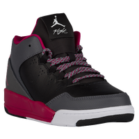 Jordan Flight Origin 2 - Girls' Preschool - Black / Pink