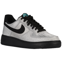 Nike Air Force 1 Low - Men's - Silver / Black