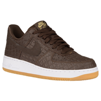 Nike Air Force 1 Low - Men's - Brown / White