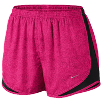 Nike Tempo Shorts - Women's - Pink / Black