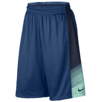 Nike Elite World Tour Shorts - Men's - Blue / Navy