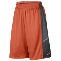Nike Elite World Tour Shorts - Men's - Orange / Grey
