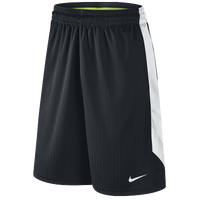 Nike Layup 2.0 Shorts - Men's - Black / White