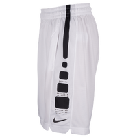 Nike Elite Stripe Shorts - Men's - White / Black