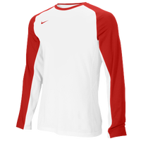 Nike Team Fearless L/S Shooting Top - Men's - White / Red