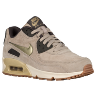 Nike Air Max 90 - Women's - Tan / Gold