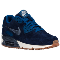 Nike Air Max 90 - Women's - Navy / Blue